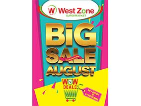 BIG SALE AUGUST